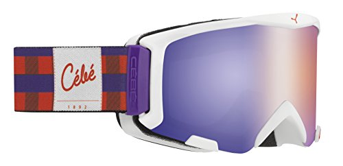 Cébé Kinder Skibrille Super Bionic Square Flash Violett, S