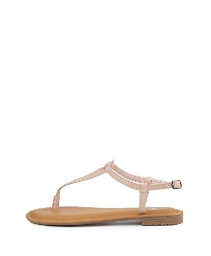 Fritzi aus Preussen Damen Marana Toe Strap Sandal Zehentrenner, Beige (Nude), 37 EU Toe-strap Sandal