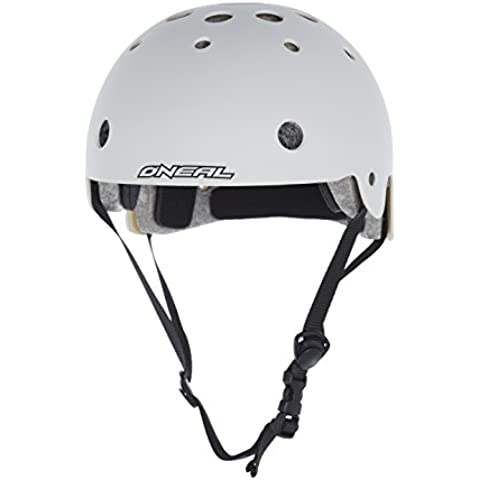 Casco BMX O'Neal Slash blanco Contorno de la cabeza 50-53 cm 2016