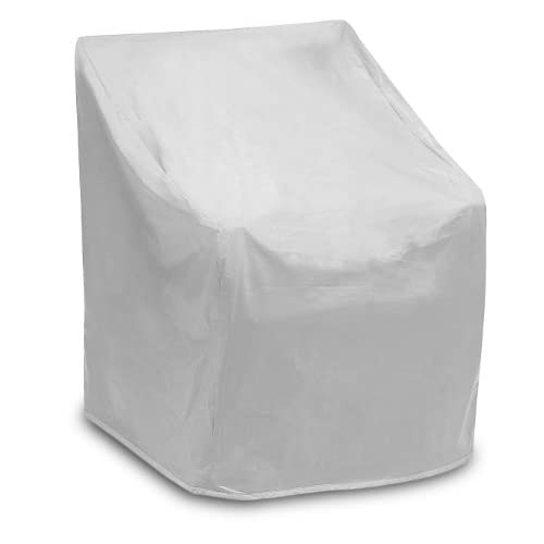 Protective Covers Weatherproof Wicker Chair Cover, Regular, Gray