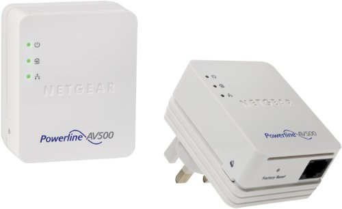 Netgear XAVB5201-100UKS 500 Powerline Adapter Kit -