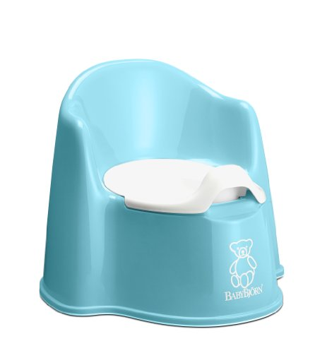Babybjorn Potty Chair - Turquoise [Baby Product]