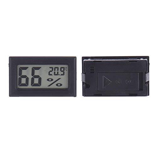 xiangpian183 Mini drahtlose LCD Digital elektronische Temperatur-Feuchtigkeitsmessgerät, Indoor-Thermometer Hygrometer für Humidore, Gewächshaus, Garten, Keller, Kühlschrank, Schrank