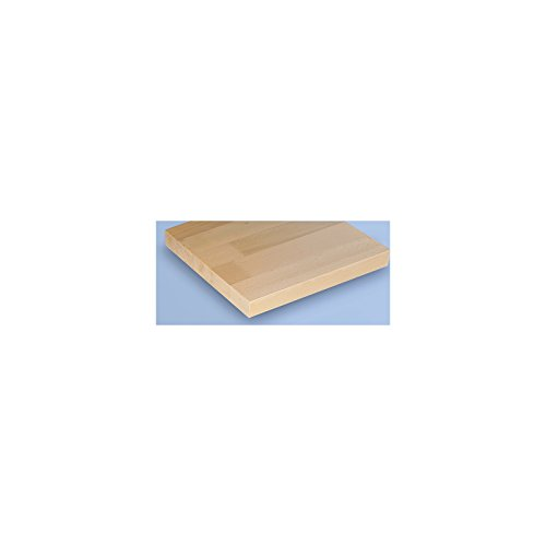 Werkbank kompakt, Buchemassivplatte – Breite 1140 mm, mit Ablageboden – fahrbar – Arbeitsplatz Arbeitstisch Montagetisch Werkbank Werktisch - 2