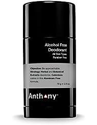 ANTHONY Déodorant sans Alcool, 70 g