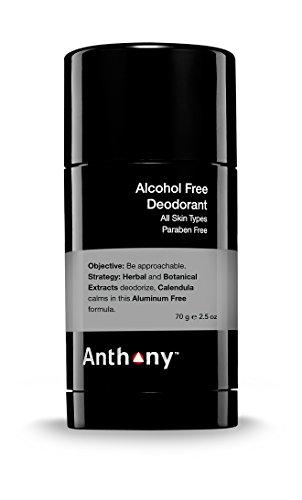 Anthony Deodorant-Alcohol Free