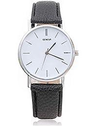 cc5e3799d67d Reloj a Cuarzo analógico Reloj décontractée Reloj de Pulsera Reloj de Moda  Vogue Relojes para Hombre Mujer Ultra Fino…