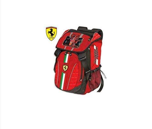 DIVASPORT Zaino Estensibile 29X41X13.5 Scuderia Ferrari - Prodotto Ufficiale