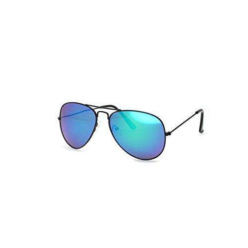 Disco Sonnenbrille - Hochwertige Pilotenbrille Sonnenbrille 70er Jahre Herren