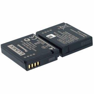 Panasonic Akku für Panasonic Lumix DMC-LX7 Li-Ion 3,6 Volt 1250 mAh (Panasonic Lumix Lx7 Kamera)