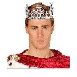 TH GEMS FOR FANCY DRESS ACCESSORY (Silver Kings Crown)