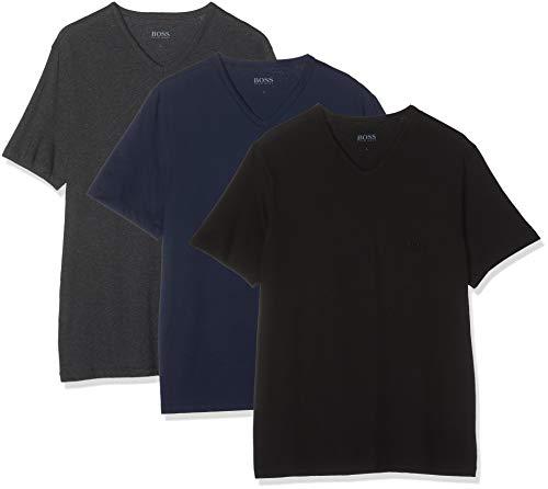 BOSS Herren VN T-Shirt, Blau (Open Blue 497), X-Large (Herstellergröße: XL) (3erPack) -