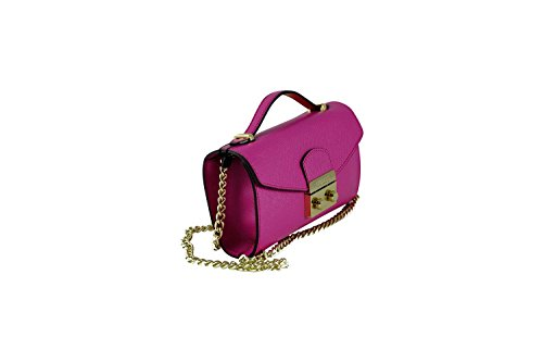 GUESS ARIA SMALL CROSSBODY CLUTCH HWARIAP7195 FUC FUCHSIA