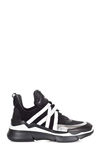 elena iachi - sneakers women e1700 nero/argent black/silver