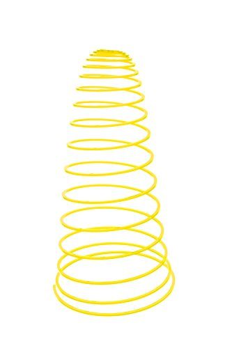SunSpiro® - Licht & Laune® Sonnenspirale, zitronengelb, D. 20 cm - Länge ca. 50 - 70 cm