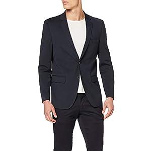 Amazon-Marke: find. Blazer Herren Slim Fit, mit zwei Knöpfen
