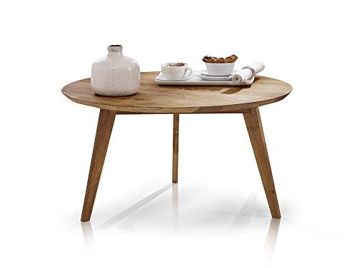 moebel-eins Austin Couchtisch Wohnzimmertisch Tisch Holztisch Sofatisch Beistelltisch Kaffeetisch Wildeiche geölt, Wildeiche