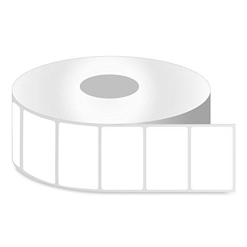 Thermo-Etiketten für Zebra-Desktop-Drucker, 2,5 cm (2,5 x 2 cm), Zebramuster 1 Inch Core - 2.25 x 2-21 Rolls (Drucker Zebra 2x1 Etiketten)