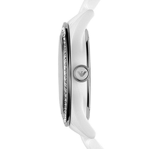 Emporio Armani Damen-Armbanduhr Analog Quarz Keramik AR1426 - 2