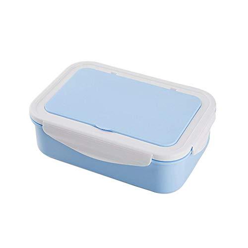 Brotdose Mit Fächern Vesperdose Bento Box Isolierung Für Schule, Kindergarten Und Büro, Lecksicher Lunchbox Mit Besteck Mikrowelle Erhitzt Von biback