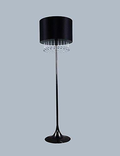 GJY-Moderna lampada da terra nera con Gocce in Vetro di Decoration , 220-240v