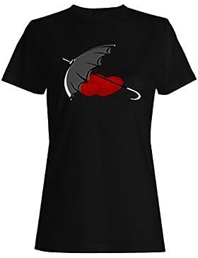 I amor usted novedad, divertido, vintage, arte camiseta de las mujeres zz49f