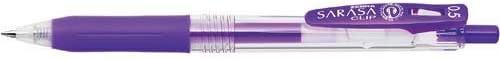 Zebra Sarasa Clip 0.5mm viola 5pcs 5pcs 5pcs Japan | Funzione speciale  | Vinci l'elogio dei clienti  | Consegna Immediata  80758a
