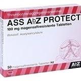 ASS ABZ Protect 100 mg magensaftresist.Tabl. 50 St