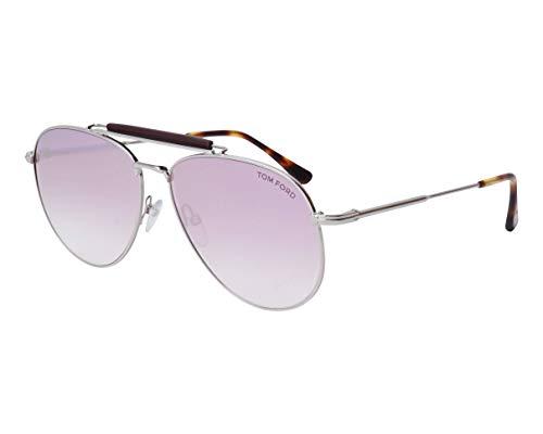 Tom Ford Sonnenbrillen Sean (TF-0536 16Z) silber - malvenfarbig-grau verlaufend - verspiegelt