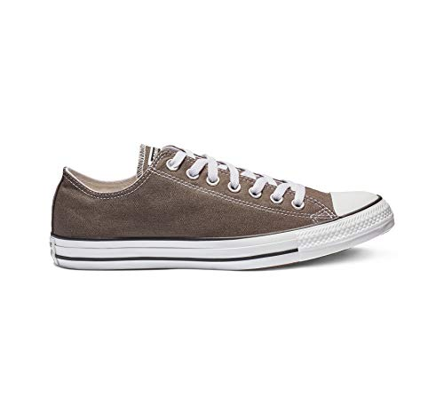 Converse Unisex-Erwachsene Chuck Taylor All Star-Ox Low-Top Sneakers, Grau (Charcoal), 43 EU -