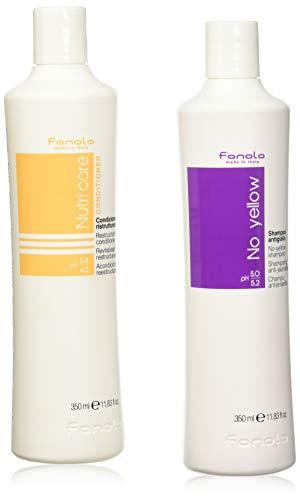 Scheda dettagliata Fanola No Yellow Shampoo 350ml & Nutri Care Conditioner 350ml