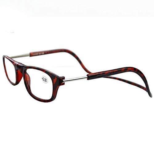 0e781174c7 Fernando S.L Gafas de Lectura Anteojos Gafas -2.0 Optica Power Clip  magnético Ajustable Colgante Cuello