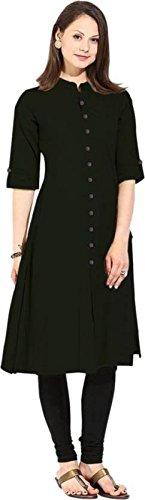 Vastraa Fusion Women's Khadi Cotton Kurta | Stylish Kurta / Kurti for...