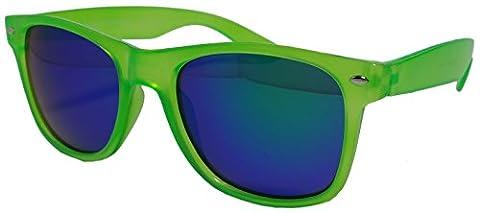Mens Ladies Spectrum Mirror Lens Wayfarer Sunglasses Various Designs 100%