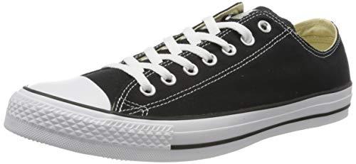 Converse Ctas Mono Ox, Unisex-Erwachsene Sneaker , Schwarz - Schwarz - schwarz - Größe: 36.5 EU