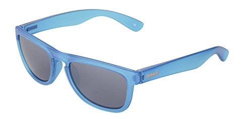 Sinner Kinder Sonnenbrille Richmond Wayfarer Polycarbonat Festival Matt Licht Blau