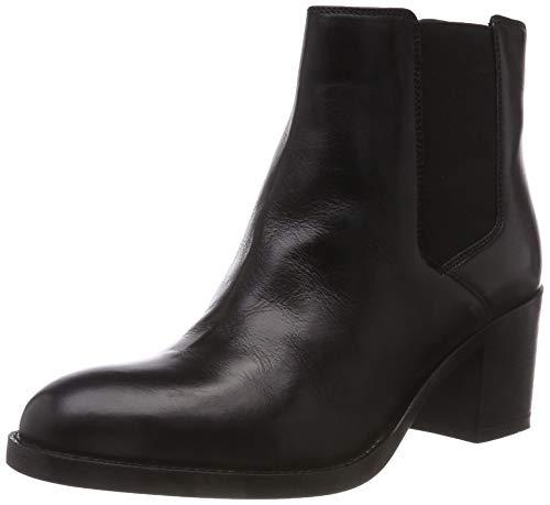 Clarks Damen Mascarpone Bay Schlupfstiefel, Schwarz (Black Leather), 41 EU