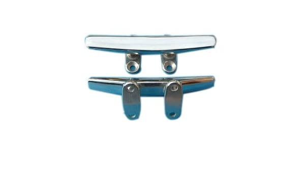 """Stainless Steel Solid Base Boat Cleat 5"""" 125mm"""