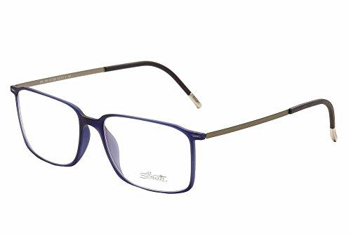 Schwarzkopf Silhouette Eyeglasses Urban Lite 2891 6055 Full Rim Optical Frame 55x17x150mm