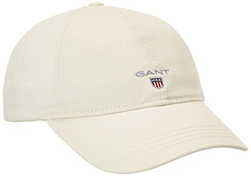 GANT Herren Baseball Cap 90000, Gr. One size, Beige (PUTTY 34) -