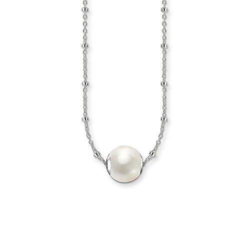 Thomas Sabo Damen-Schmuck-Sets Künstliche Perle SET0355-082-14-L45v