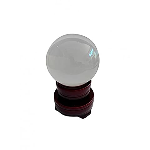 Boule de cristal de 5 cm avec support