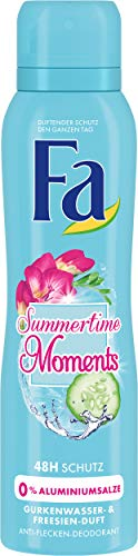 Fa Deodorant Spray (Fa Summertime Moments Deospray, 6er Pack (6 x 150 ml))