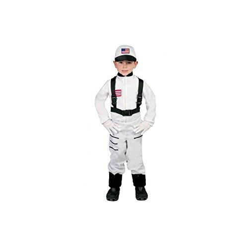 Astronaut Kostüm für Kinder Gr. 110-146, Größe:110/116 (Halloween-kostüme Astronaut)
