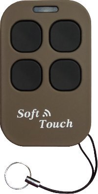 CREMUL-ST-B Universal-Multifrequenz Fernsteuerung Duplicator, 4-Kanal, für Automatische Garagentore und Tore, Braune Farbe, Soft Touch (Rolling-Code Fernbedienungen Können Nicht dupliziert Werden)