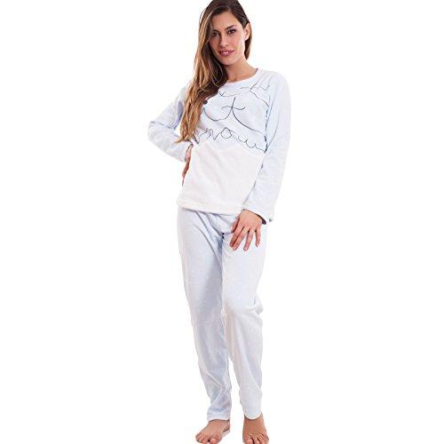 Toocool - Ensemble de pyjama - Femme bleu ciel