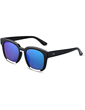 Ilove EU Mujer Gafas de sol elegante Mode Bodi Marco Wayfarer Gafas de conducción 4colores a elegir.