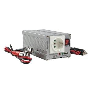 HQ Wechselrichter, 12V auf 230V, 300W, mit USB Port