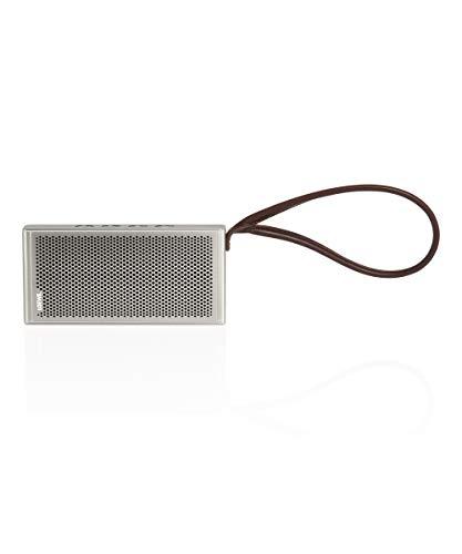 Loewe klang m1 Lichtgrau (Bluetooth Lautsprecher, tragbarer Lautsprecher mit bis zu 12 Stunden Laufz...