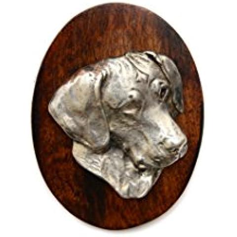 Rhodesian Ridgeback, Clip de perro, clip de anillo/número titular, edición limitada, ArtDog